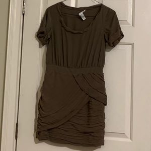 Short Taupe cocktail dress